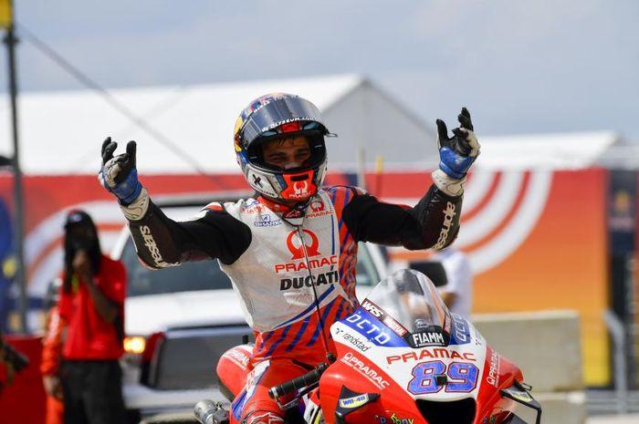 Pembalap rookie tim Pramac Racing, Jorge Martin.