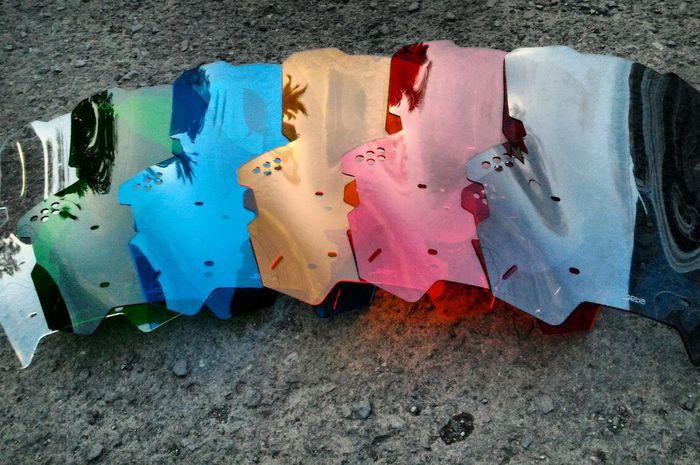 Pilihan warna windshield GEBA
