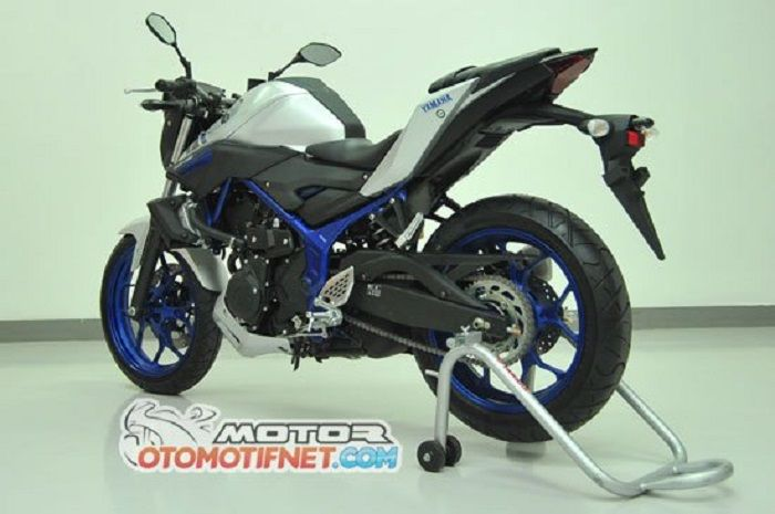 Merawat rantai Yamaha MT-25