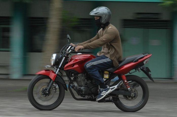Honda Tiger Karbu Berubah Jadi Sistem Injeksi Gridotocom