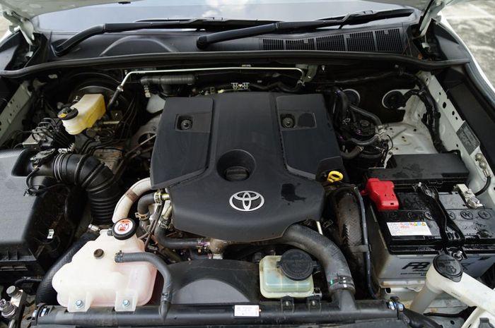ILUSTRASI. Mesin Diesel 2GD Toyota yang Dipakai Fortuner, Innova, dan Hilux