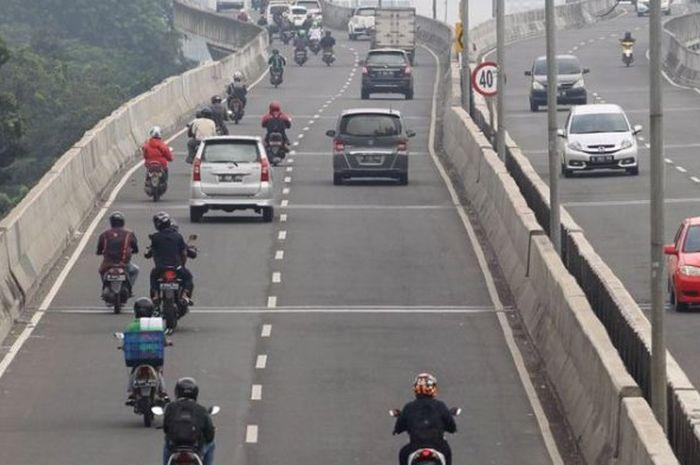 Motor tetap dilarang lewat JLNT karena beberapa alasan
