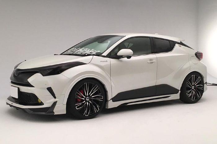 Tampilan modifikasi Toyota C-HR garapan Sixth-sense
