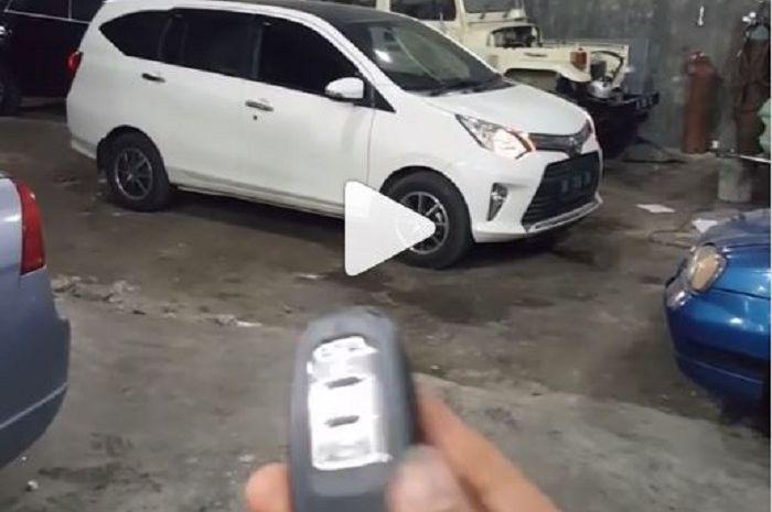 Toyota Calya pakai remote engine start