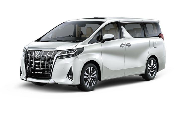 Arti nama Toyota Alphard