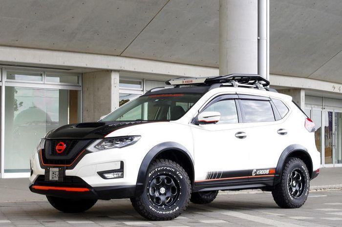 Modifikasi Nissan X-Trail bergaya sporty