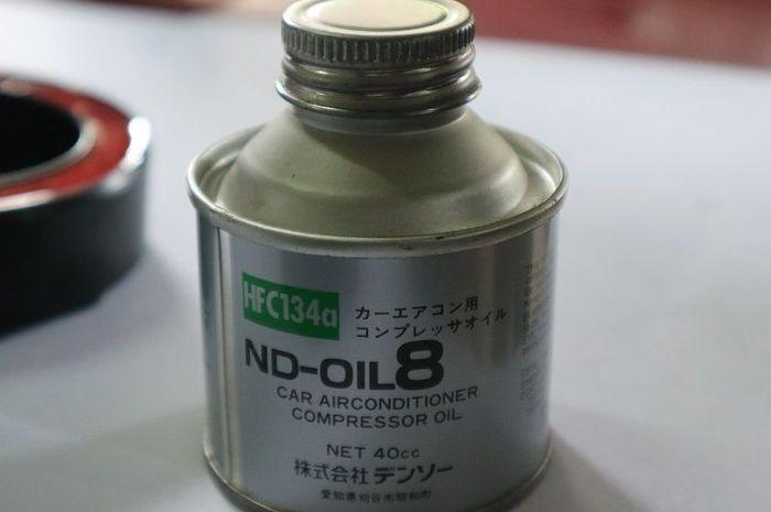 Gunakan oli kompresor yang sesuai spesifikasi.