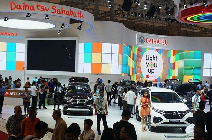 Ilustrasi Booth Daihatsu