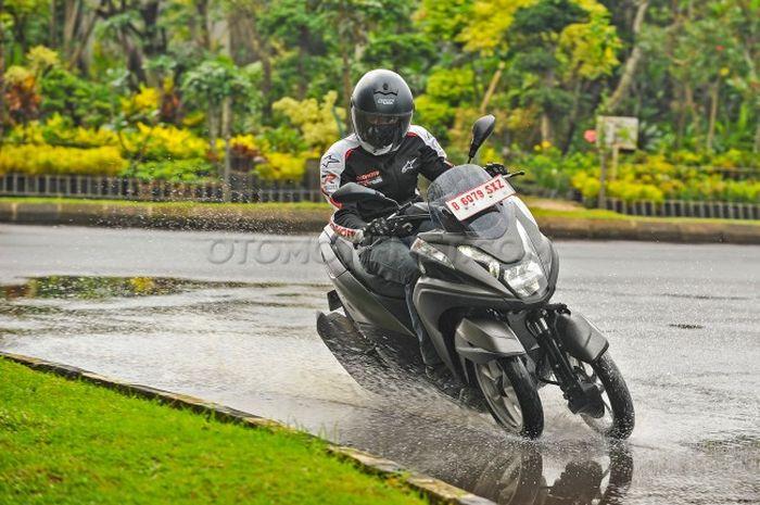Test Ride Yamaha Tricity 155