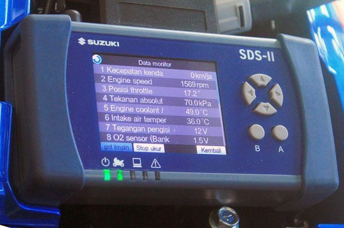 Bedah Suzuki Diagnostic System (SDS) II Khusus Untuk GSX