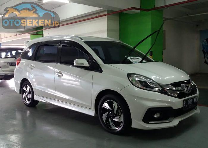 Honda Mobilio 2015 Bekas Tipe S M T Kini Cuma Rp 120 Juta Prestige Cvt Segini Gridoto Com