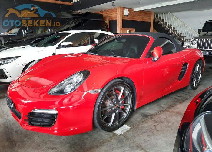 Sportscar Porsche Boxster S 981 Harga Sekennya Rp 1 2 Miliaran Pajak Tahunannya Jangan Kaget Gridoto Com