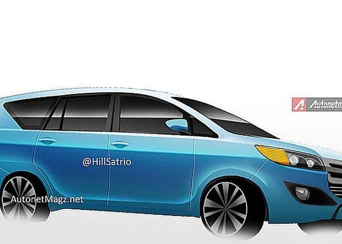 Inikah Sosok Toyota Innova Generasi Ii Gridoto Com