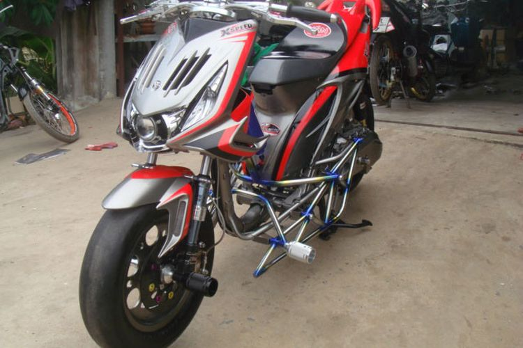 Modifikasi Honda Beat Karbu