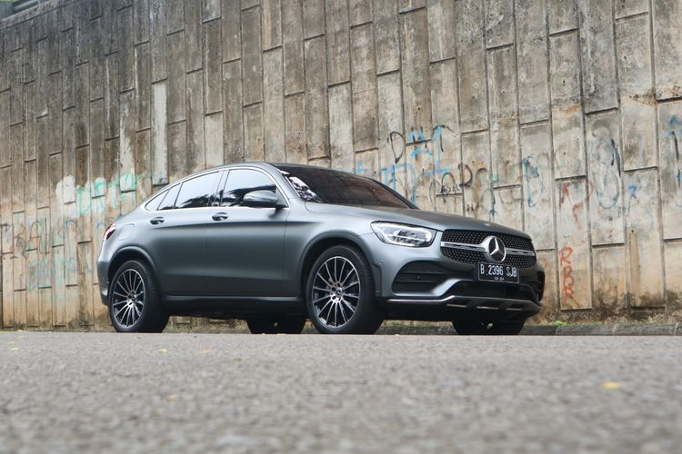 Mercedes Benz Glc 300 4matic Coupe Amg Line Ini Ciri Wajah Barunya Gridoto Com