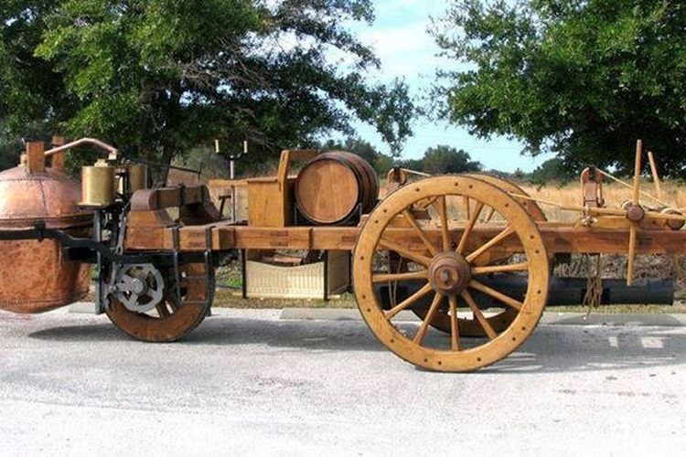 Blast From The Past! Cugnot Fardier, 'Mobil' Pertama yang Kecepatannya  Hanya 1,6 Km/Jam Saja - GridOto.com