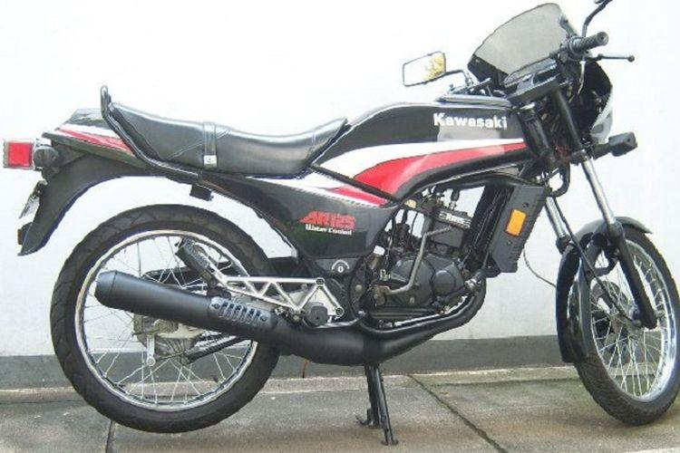 Melirik Kawasaki Ar125 Motor Keren Dan Tercanggih Di Era 1980 An Gridoto Com