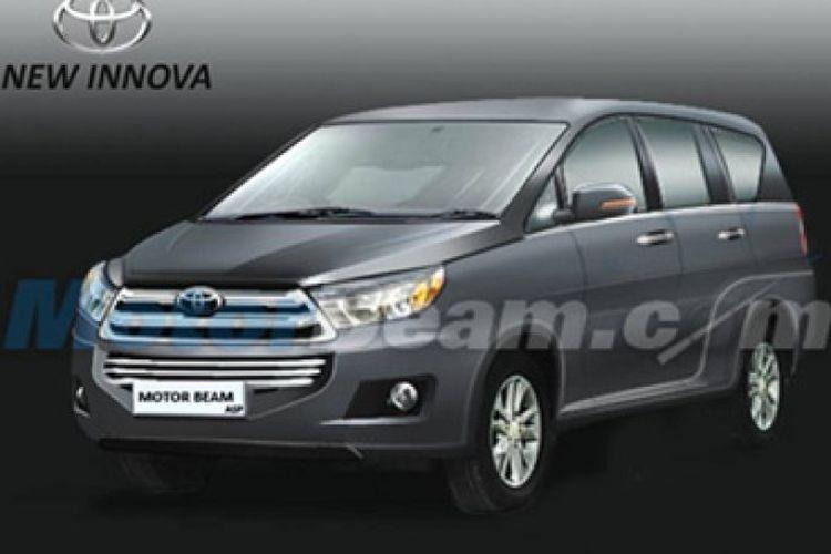 Tampang Toyota Kijang Innova Terbaru Lebih Berotot Gridoto Com