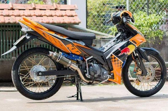Selingkuh Masa Ada Jupiter Mx Dimodif Ala Motor Road Race