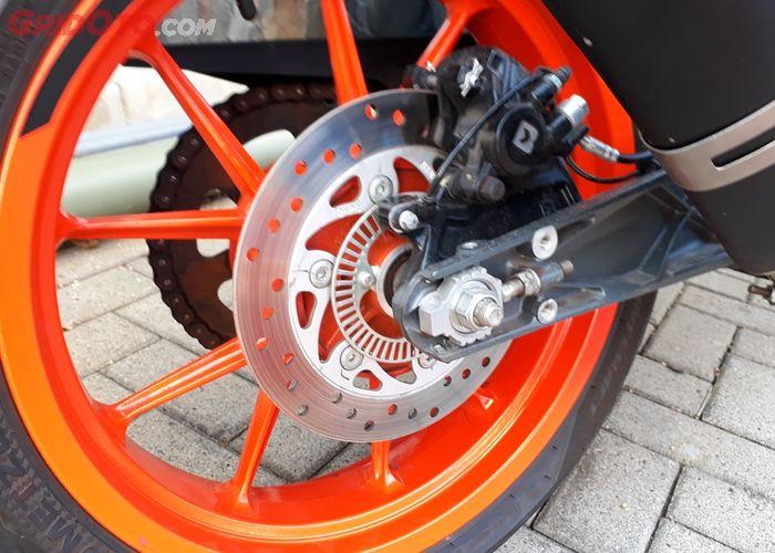 Begini Caranya Setel Rem Cakram Belakang Bisa Atur Jarak Main Pedal Rem Semua Halaman Gridoto Com