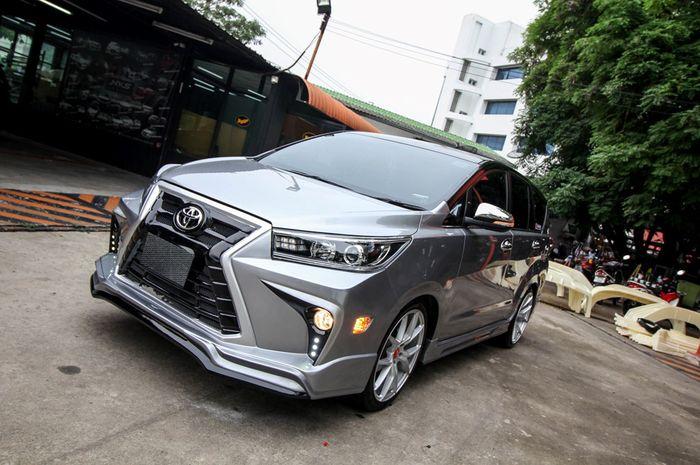 Operasi Plastik, Toyota Innova Reborn Pakai Wajah Lexus