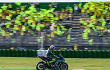Valentino Rossi Raih Hasil Buruk, MotoGP San Marino 2021 Tetap Jadi Lautan Bendera Kuning