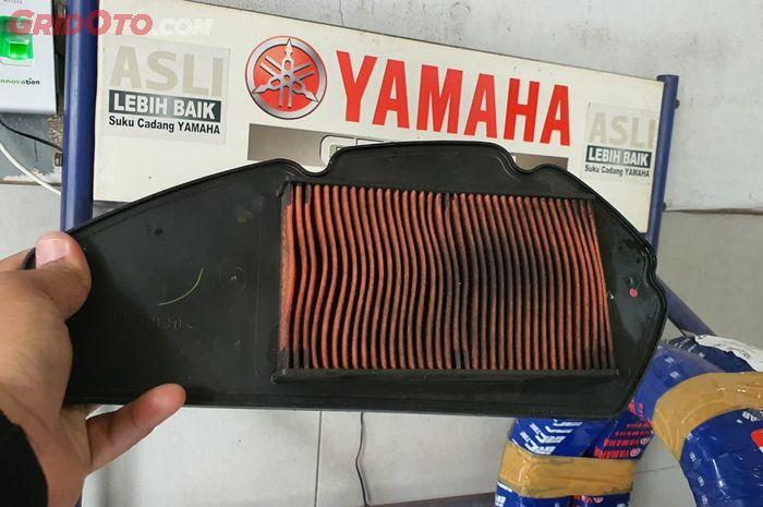 Filter udara motor kotor bikin tarikan lemot