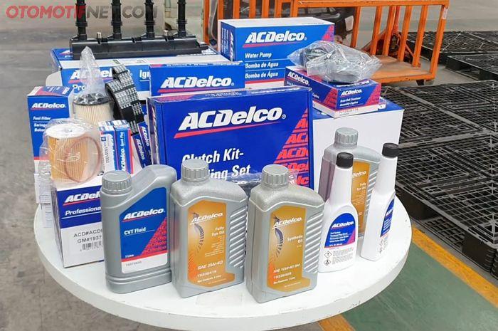 Ilustrasi beragam produk AC Delco