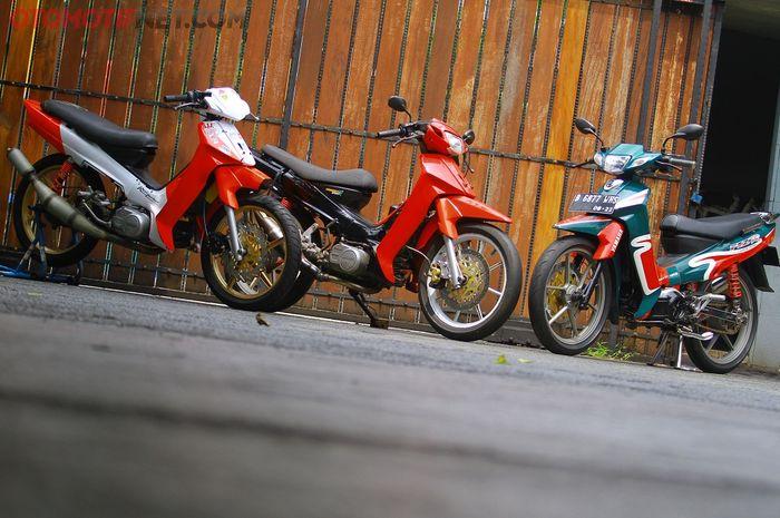 Ilustrasi motor 2-tak : Yamaha F1ZR salah satu motor bermesin 2-tak