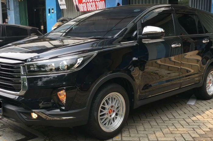 Upgrade body kit Toyota Kijang Innova Reborn ke Venturer model 2021 di Automania