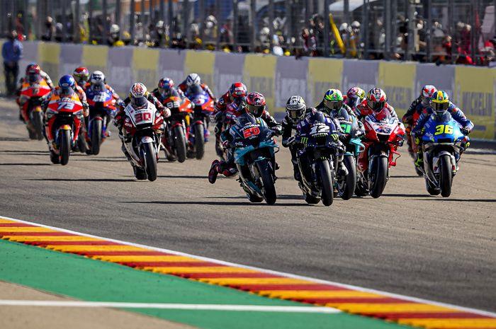 Jadwal balap MotoGP 2021 yang bersifat sementara resmi diterbitkan