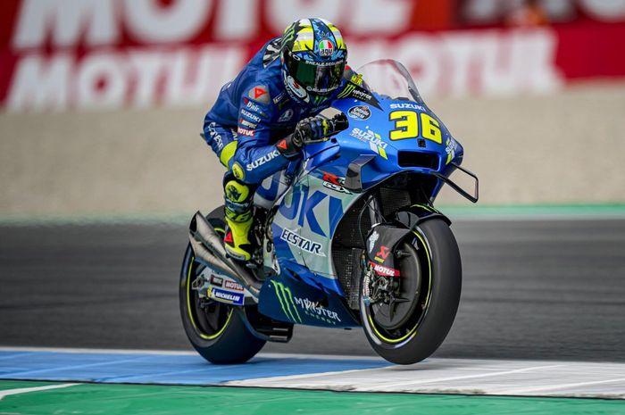 Joan Mir yakin bisa pertahankan gelar juara dunia usai berhasil naik podium ketiga di MotoGP Belanda 2021