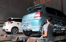 tips mudik 2019, jangan asal-asalan cuci kolong mobil matik sob
