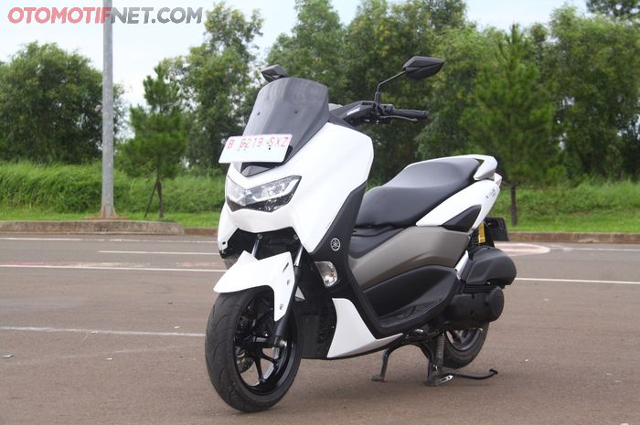 All New Yamaha NMAX ABS Connected