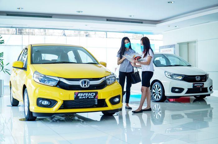 Ilustrasi penjualan mobil Honda