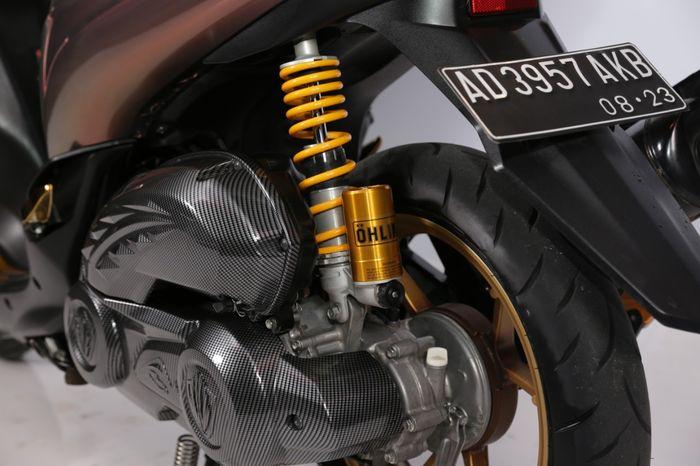 Tampilan Belakng Yamaha Lexi Milik Jalu Atmojo