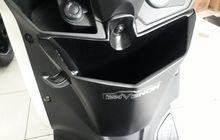 Pasang Laci Tambahan di Yamaha Lexi, Bawa Barang Semakin Praktis