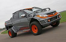 Mitsubishi Triton Satu Ini Berpenampilan Siap Tempur