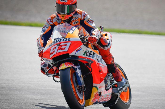 Start dari posisi 8, Marc Marquez pesimis bisa salip para pembalap Ducati di balapan MotoGP Styria 2021