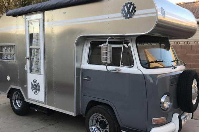 Vw Camper Van >> Vw Kombi Dimodif Jadi Camper Van Kece Dijual Seharga
