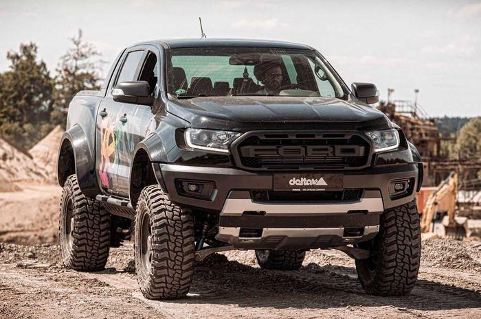 Modifikasi Ford Ranger Raptor hasil garapan bengkel Jerman, Delta 4x4