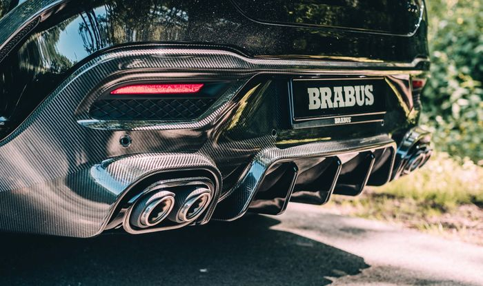 Exhaust system Brabus untuk Mercedes-AMG GLE 63 S Coupe
