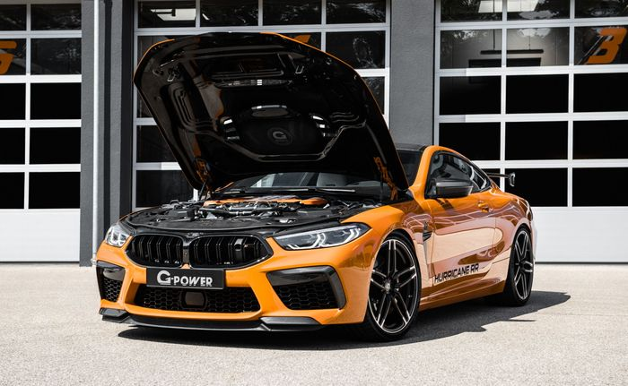 Jantung pacu BMW M8 Competition diupgrade oleh G-Power