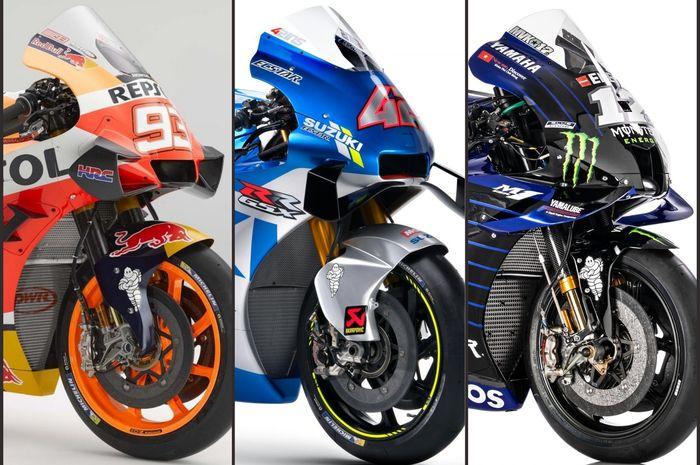 MotoGP 2020 bakal fokus di Eropa, tim pabrikan  Yamaha, Honda, dan Suzuki terancam akan kekurangan kru
