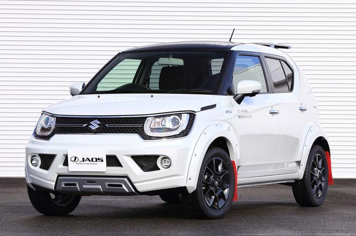 Imbangi Suzuki Ignis Se Nih Referensi Modif Ignis Rally Look