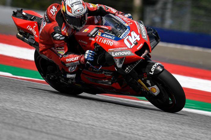 Andrea Dovizioso optimis bisa ambil alih klasemen di dua seri MotoGP San Marino