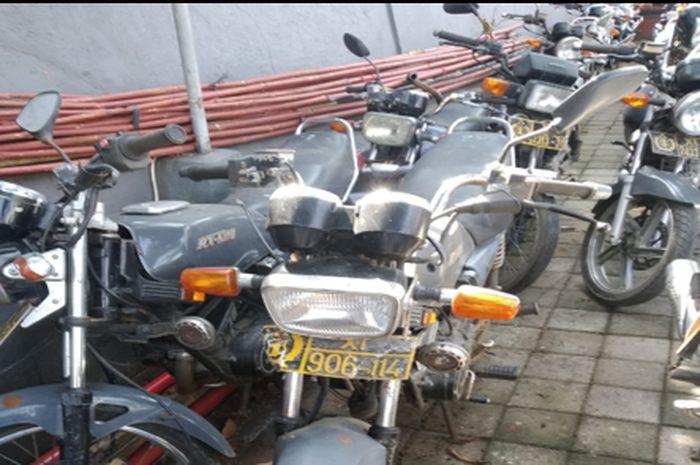 Motor-motor yang dilelang KPKNL Denpasar  (lelang.go.id)