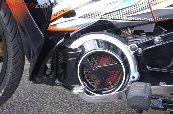 Fungsi kipas pada Yamaha F1ZR