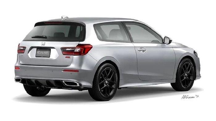 New Digimod Honda Civic Hatchback with Honda Civic Estilo flavor