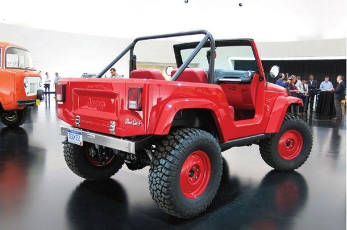 Mobil ini dibangun dari basis Jeep Wrangler JK SWB